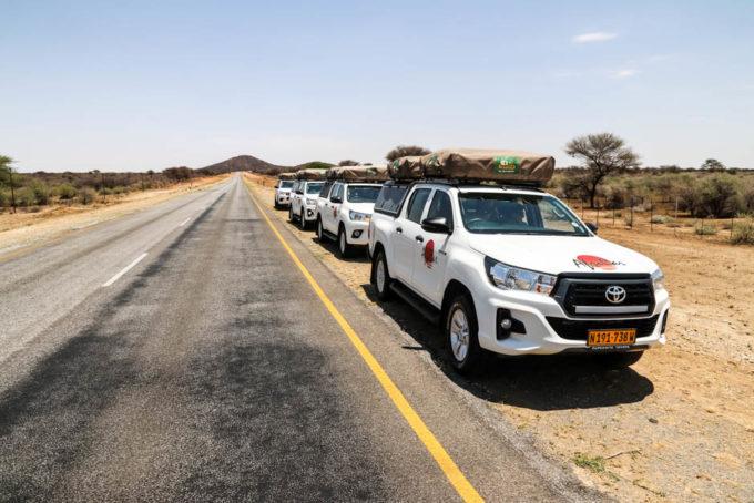 Na trasie Namibia
