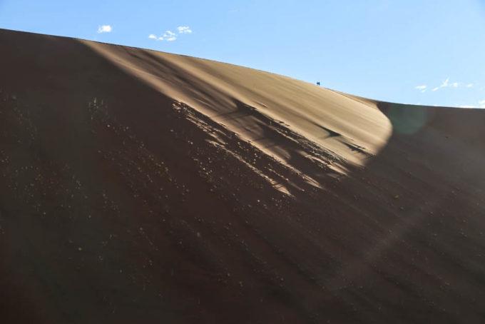 Ogromne wydmy Namib