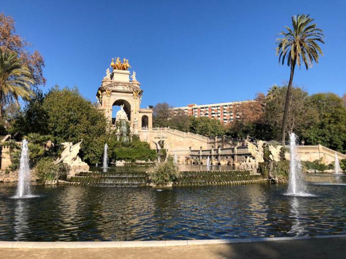 Parc de la Ciutadella fontanna