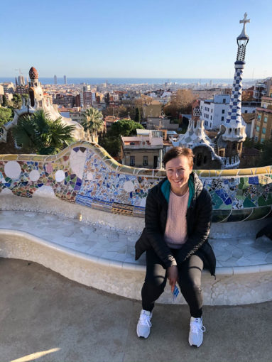 Park Guell Barcelona mozaiki