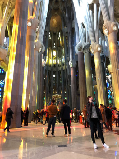 Sagrada Familia Barcelona z audioprzewodnikiem