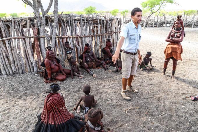 Wioska Himba przewodnik