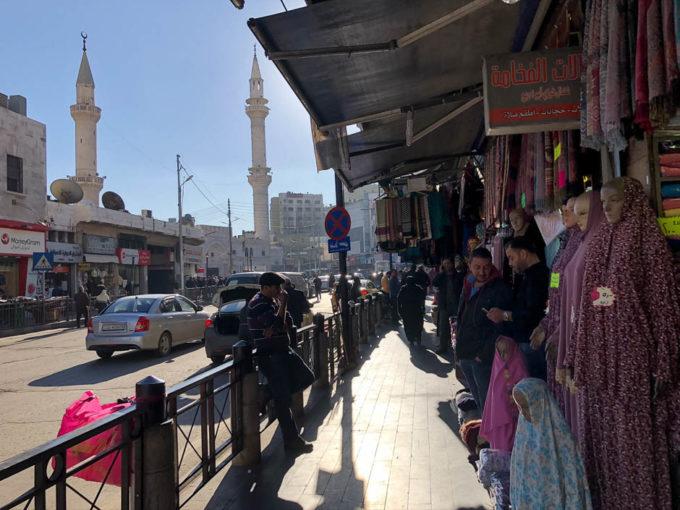 Amman sklepy i meczet