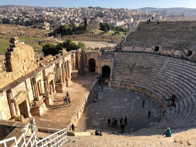 Jerash teatr rzymski