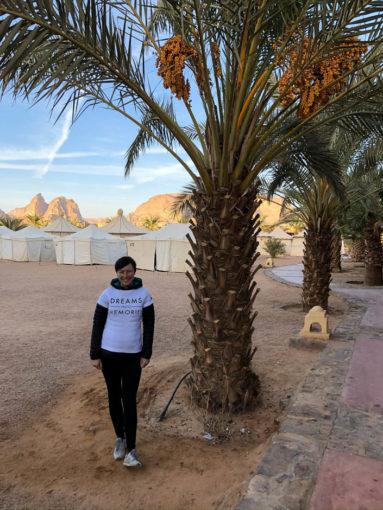 Kemping Wadi Rum Bait Ali