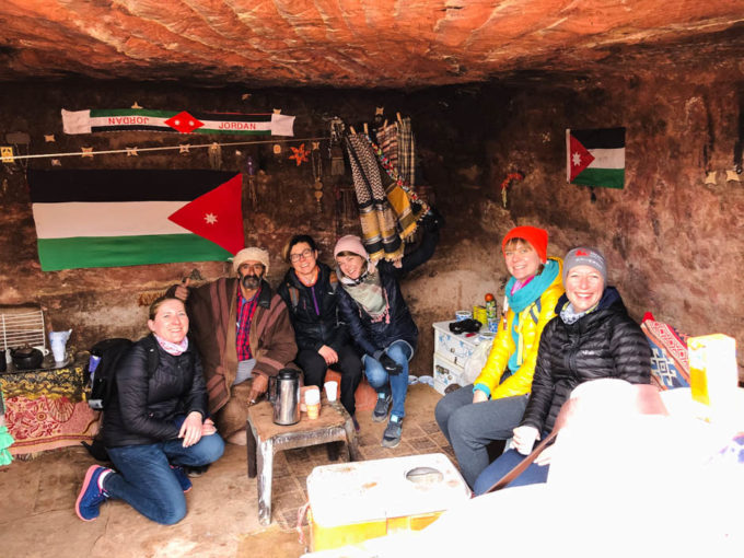 Petra herbatka u Beduina