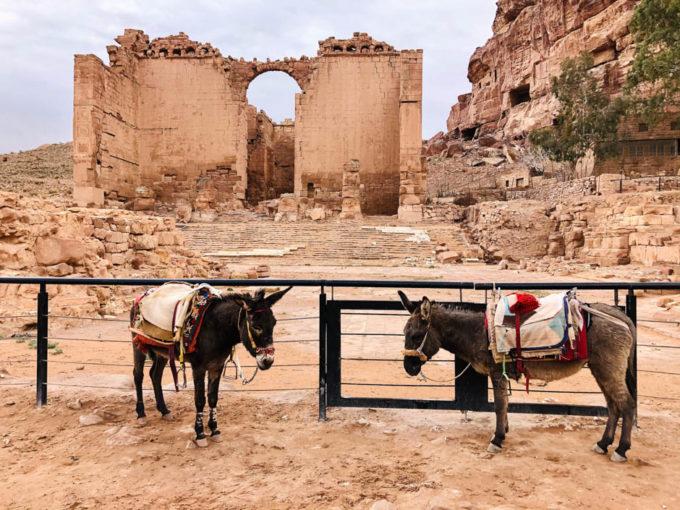 Petra pałac Córki Faraona
