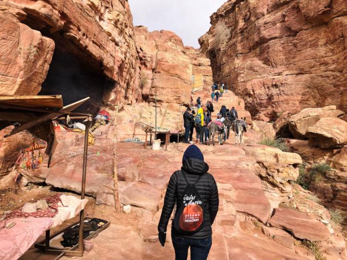 Petra w drodze na Monastyr