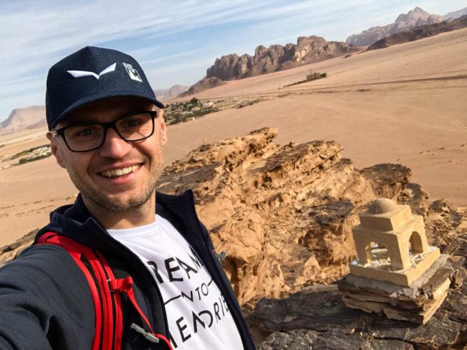 Punkt widokowy Wadi Rum Jordania