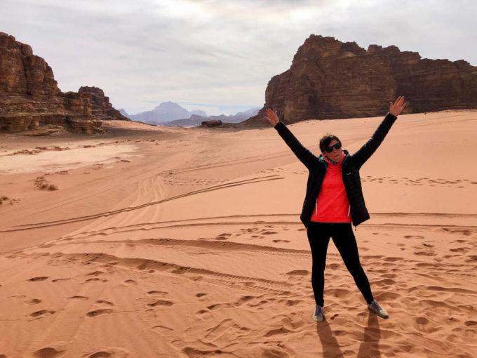 Wycieczka jeepami Wadi Rum Jordania