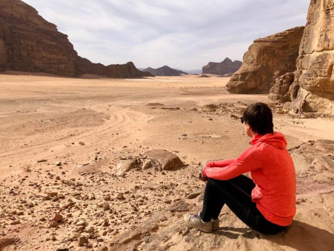 Wycieczka jeepami Wadi Rum panoramy